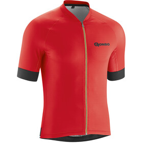 Gonso Cuvo - Maillot manches courtes Homme - rouge